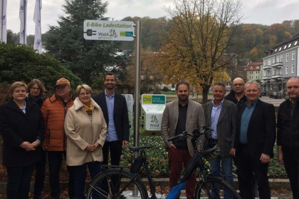 Neue Ladestationen für E-Biker