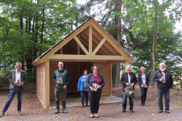 Neue Schutzhütten für den Spessart