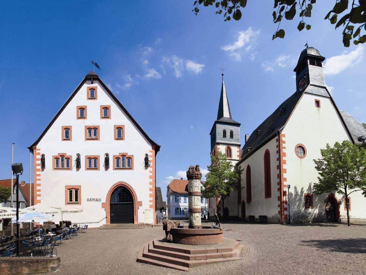 Steinauer Marktplatz Am Kumpen